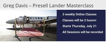Greg Davis - Presell Landers Masterclass
