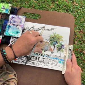 Sketching Your World: Exploring Composition & a Dramatic Sense of Depth