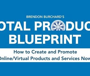 Total Product Blueprint 2021 from Brendon Burchard
