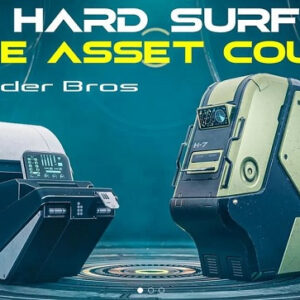 The BlenderBros Hard Surface Game Asset Course