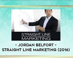 Jordan Belfort – Straight Line Marketing (2016)