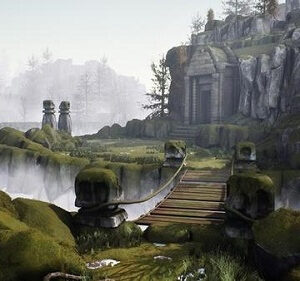Realistic Fantasy Game Environment Creation