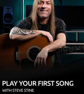 GuitarZoom Play Your First Song with Steve Stine TUTORiAL