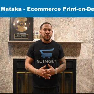 Ecommerce Print-on-Demand by Ricky Mataka