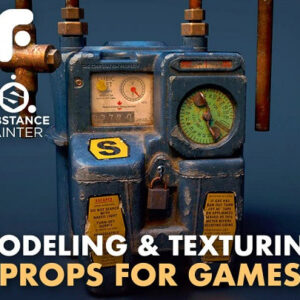 Modeling and Texturing Props for Games