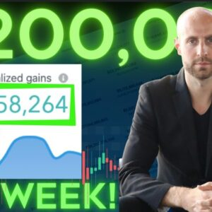 How I Made $200,000 in Cryptocurrency in 1 Week Without Trading!