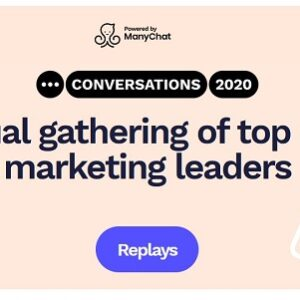 ManyChat Conversations Conference – Conversations 2020