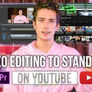 Editing YouTube Videos in Premiere Pro: How to Create Engaging & Quality YouTube Videos + Content!