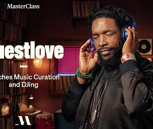 MasterClass Questlove Teaches Music Curation and DJing